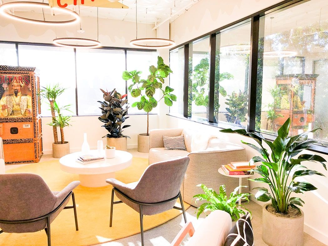 office plant design orange county california